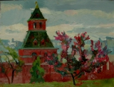 May. Kremlin museums
